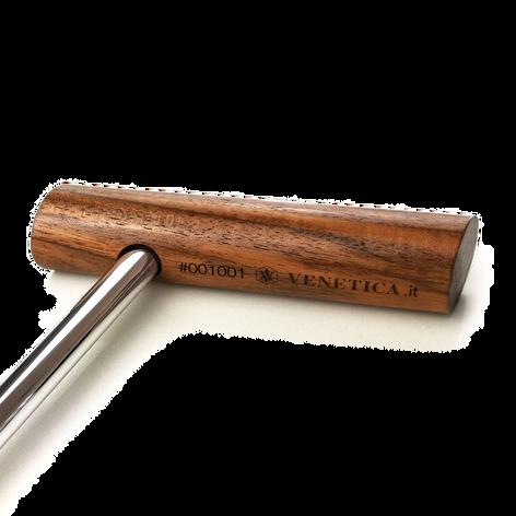Baston bastone da passeggio in legno e acciaio, putter golf