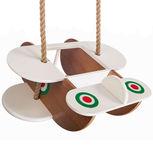 l'Ansaldo altalena in legno per bambini