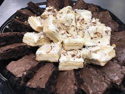 Brownies & Almond Shortbread Bars