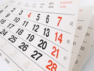 Kalendarz wydarzeń 2021-22