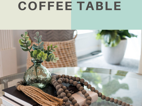 5 ITEMS TO ADD TO YOUR COFFEE TABLE