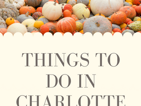 THINGS TO DO IN CHARLOTTE: THE HUNTER FARM