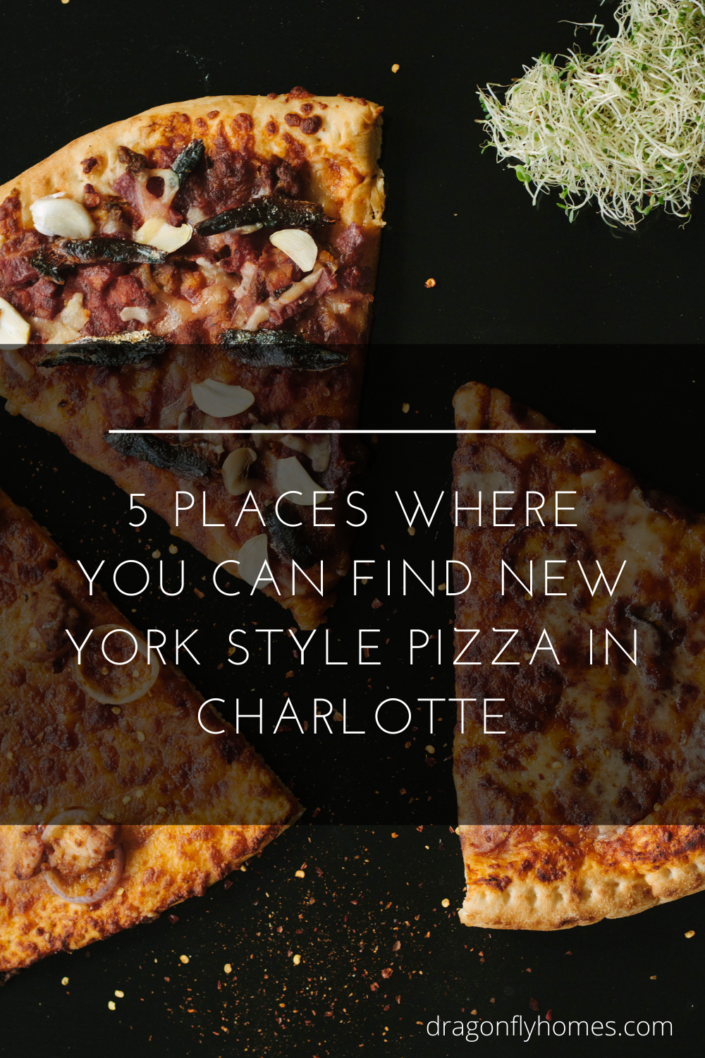 5 Places Where You Can Find New York Style Pizza in Charlotte