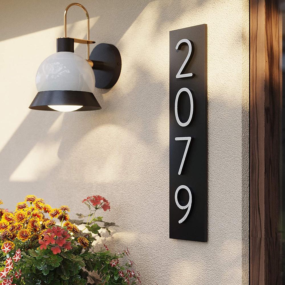 house address plaque Amazon