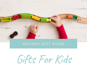 Holiday Gift Guide: Gifts For Kids That Won't Mess With Your Decor