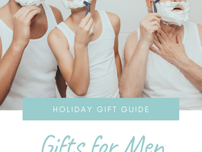 Holiday Gift Guide: Gifts for Men