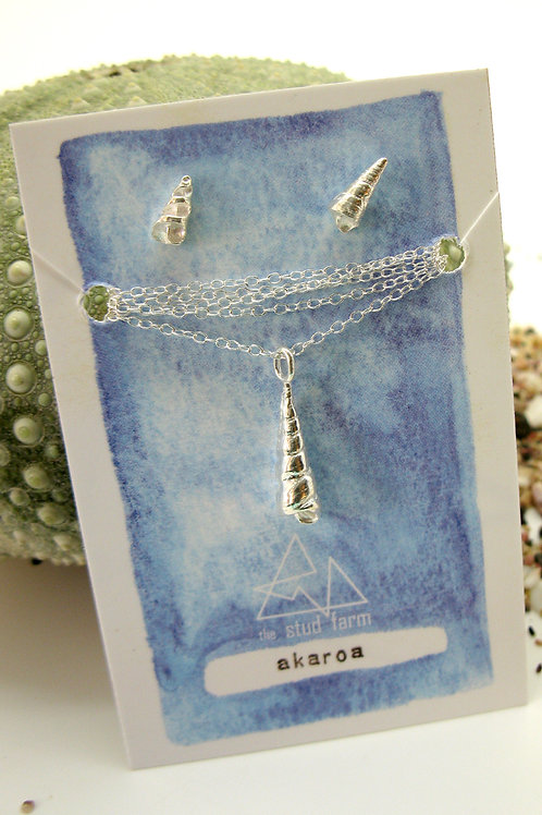 w akaroa cone pendant