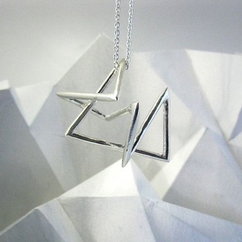 Mountain range pendant