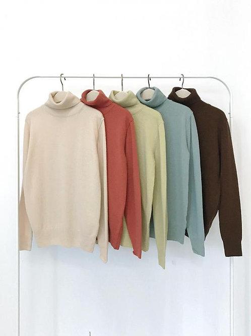 Cashmere Highneck Knit
