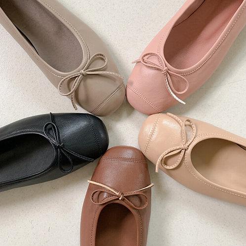 Soft Ribbon Socks Flat