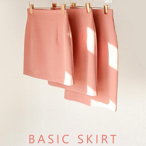 春Ver - Basic High-Waistline Skirt(4/15~4/17 詳細は写真をクリック!)