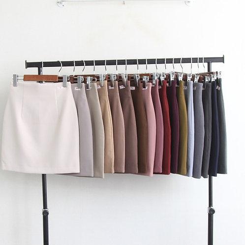 [秋・冬 Ver] Basic High-Waistline Skirt