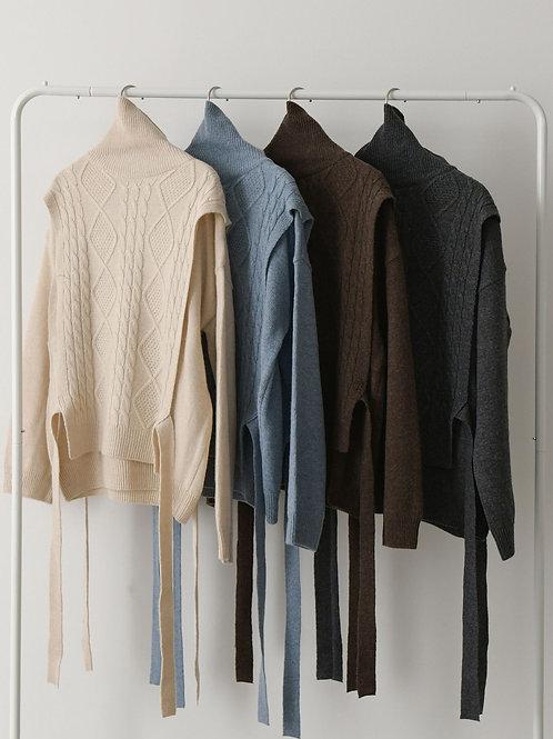Layered Ribbon Knit