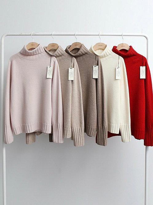 Wholegarment Highneck Knit