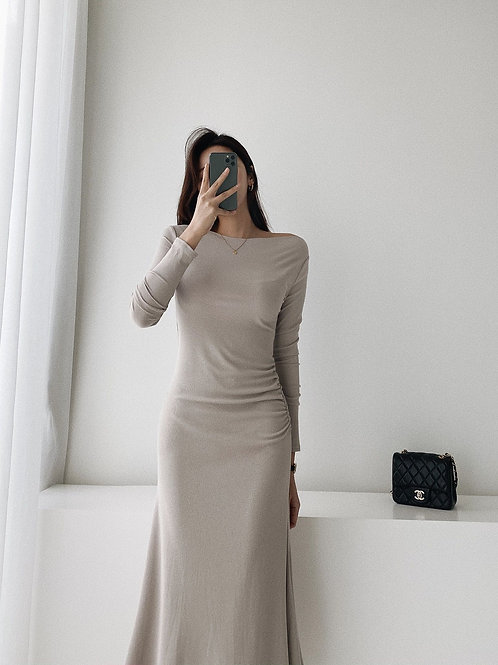 Muze Slim Knit Dress