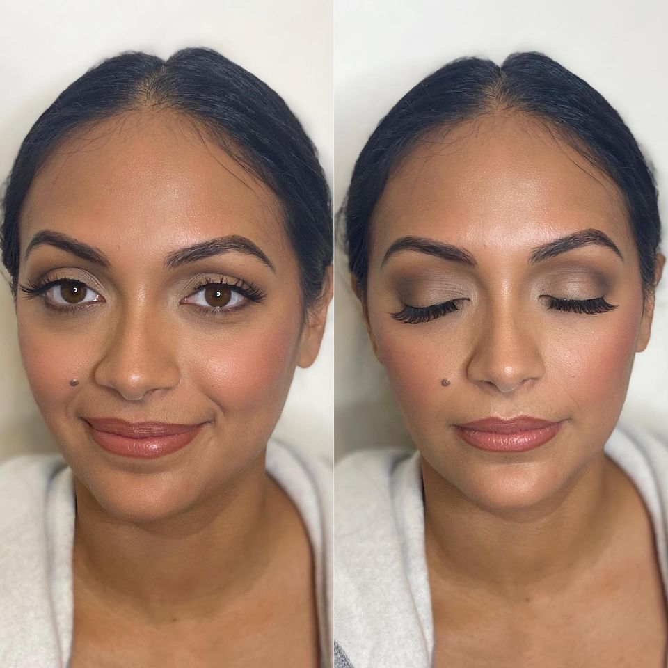 matte bronzy makeup made eazy
