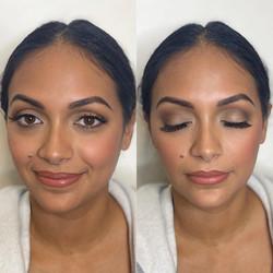 matte bronzy makeup made eazy