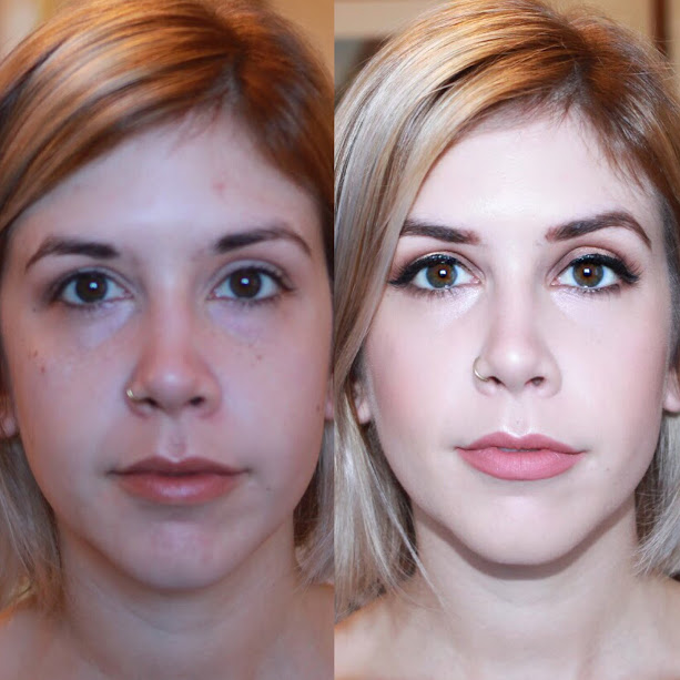 before and after  makeup artist jessica galdy makeup made eazy bridal makeup boston