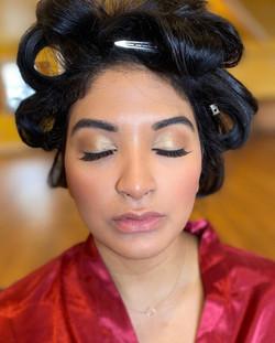 gold glam eyeshadow makeupmadeeazy