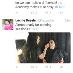 lucille beseler makeup by jessica galdy makeup made eazy makeup artist boston FNCE conference