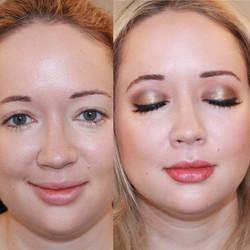 gold halo eye makeup artist jessica galdy makeup made eazy bridal makeup boston