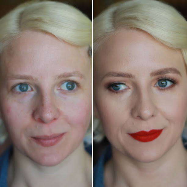 redlip bride before and after boston wedding makeup artist jessica galdy makeupmadeeazy