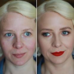 redlip bride before and after boston wedding makeup artist jessica galdy makeupmadeeazy