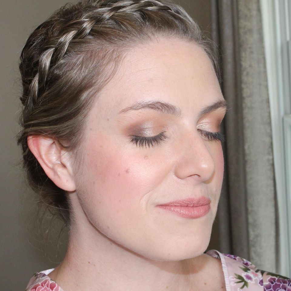 pretty soft bridal makeup