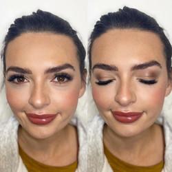 glowy glam makeup made eazy