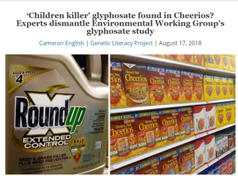 Monsanto's weed killer in your cereal? Why your breakfast is still safe