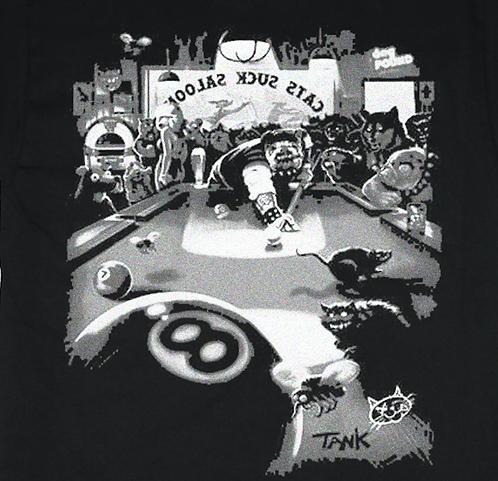 Biker Bulldog T-shirt Transfers 12pc