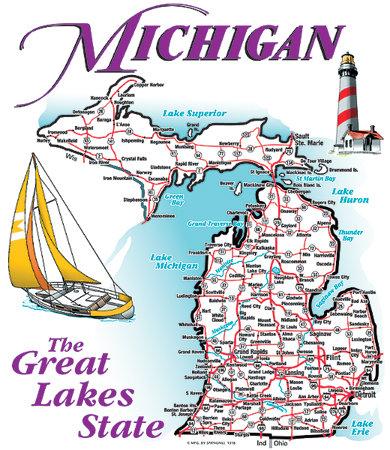 Michigan T-shirt Transfers 12pc