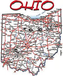Ohio T-shirt Transfers 12pc