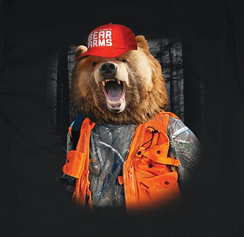 Bear Hunter T-shirt Transfers 12pc