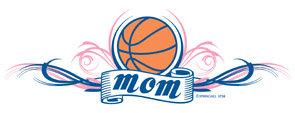 Basketball Mom T-shirt Transfers 12pc