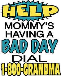 1-800-Grandma Funny Youth T-shirt Transfers 12pc