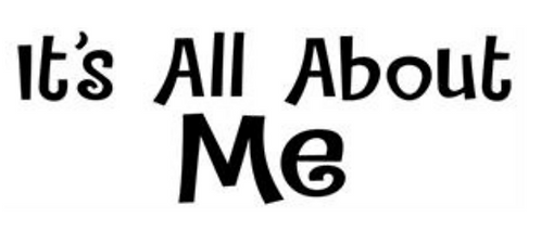It's All About Me T-shirt Transfers 12pc