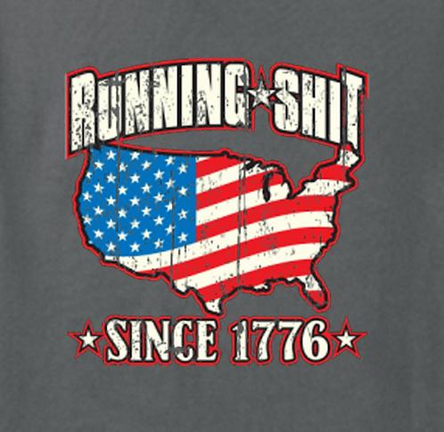 1776 Flag T-shirt Transfers 12pc