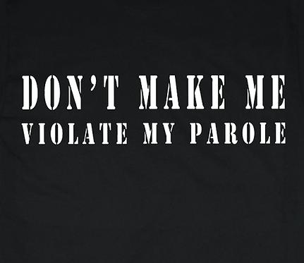 Funny Parole T-shirt Transfers 12pc