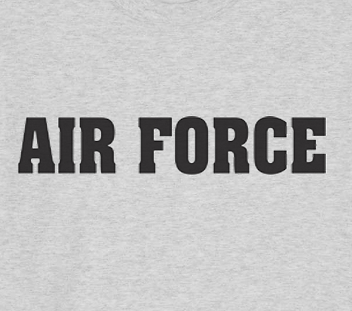 Air Force T-shirt Transfers 12pc