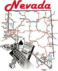 Nevada T-shirt Transfers 12pc
