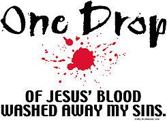 Jesus' Blood T-shirt Transfers 12pc