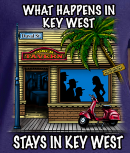 key west t-shirt transfers