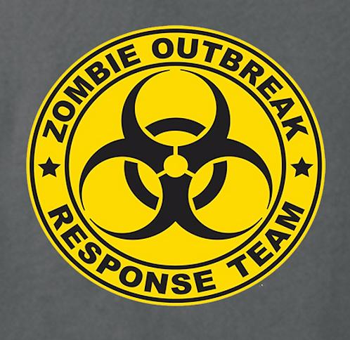 Zombie T-shirt Transfers 12pc