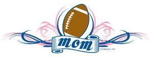Football Mom T-shirt Transfers 12pc