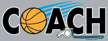 Basketball Coach T-shirt Transfers 12pc