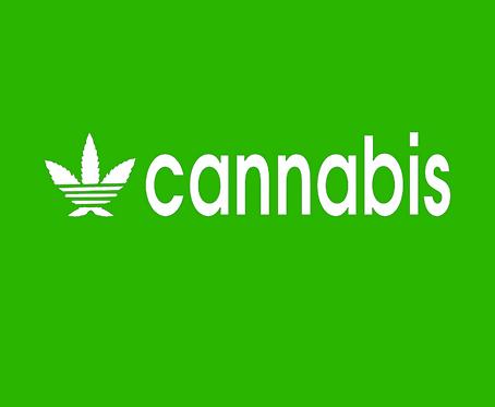 Cannabis T-shirt Transfers 12pc