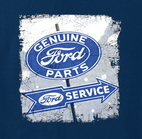 Genuine Ford Parts T-shirt Transfers 12pc