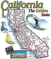 California T-shirt Transfers 12pc