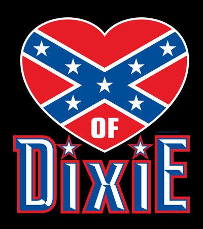 Heart of Dixie T-shirt Transfers 12pc